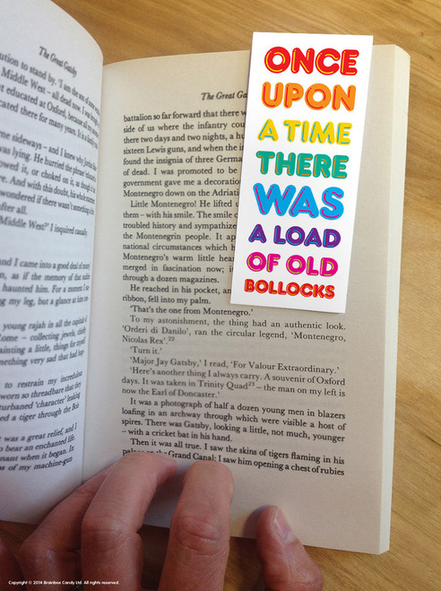 Old Bollocks Magnetic Bookmark