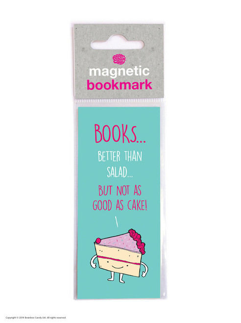 Not As Good As Cake Magnetic Bookmark