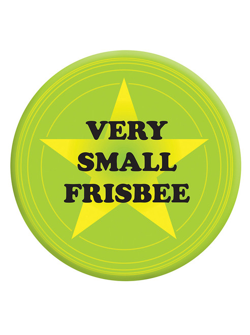 Very Small Frisbee Badge