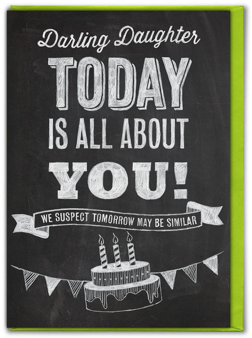 Darling Daughter Birthday Card