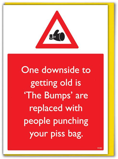 Piss Sack Birthday Card