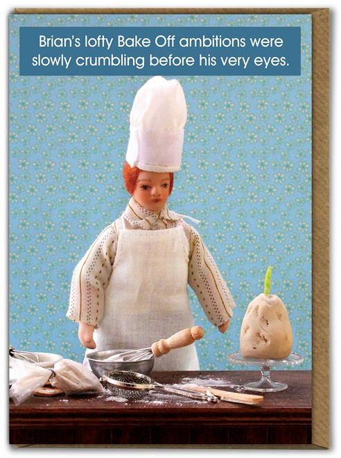 Bake Off Birthday Card
