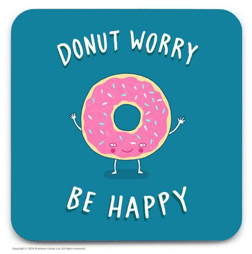 Donut Worry Coaster