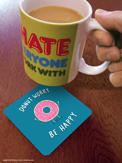 Donut Worry Coaster