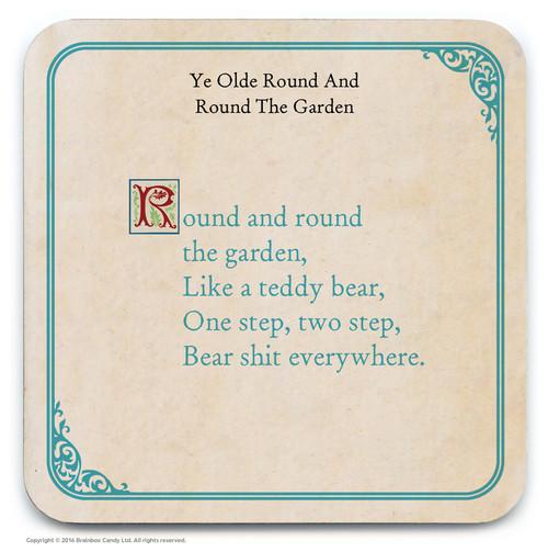 Round The Garden Coaster