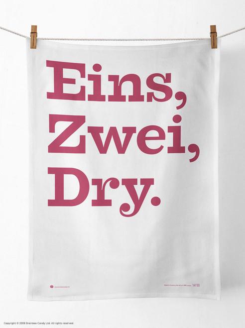 Eins, Zwei, Dry Tea Towel