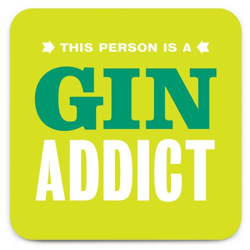 Gin Addict Coaster