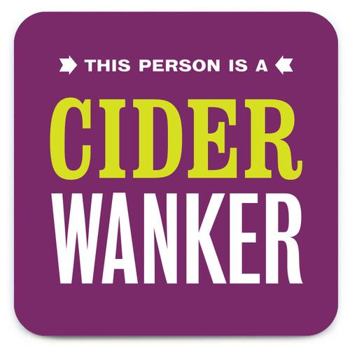 Cider Wanker Coaster