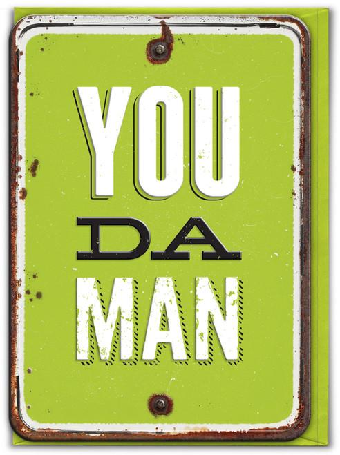 You Da Man Birthday / Father's Day Card