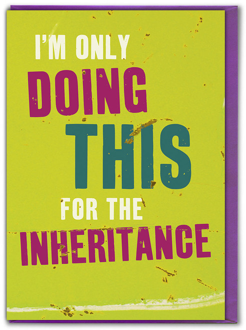 Inheritance Father's Day Card