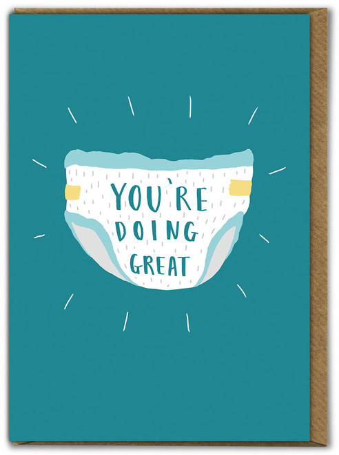 You're Doing Great New Baby Card
