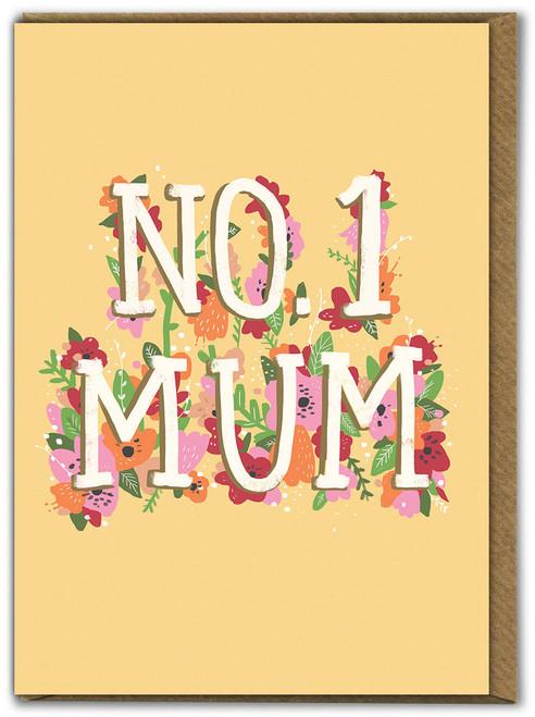No.1 Mum Birthday Card