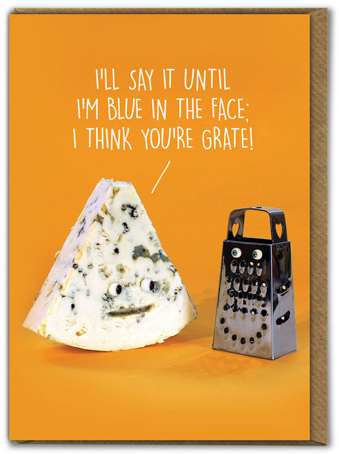 You're Grate Birthday Card
