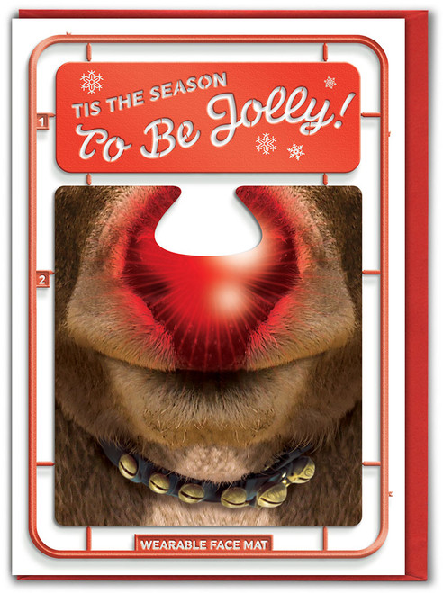 Tis The Season Christmas Card & Face Mat