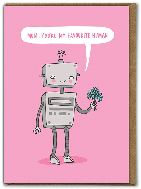Mum Favourite Human Mother's Day Greetings Card