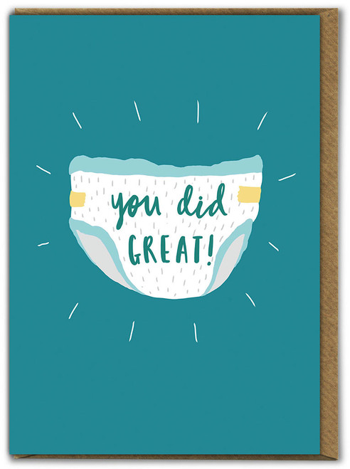 You Did Great Mother's Day Greetings Card