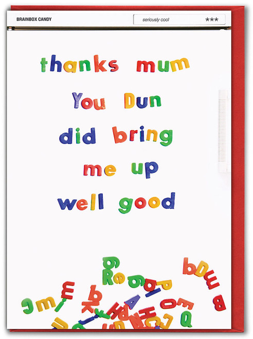 Bring Me Up Well Good Mother's Day Greetings Card