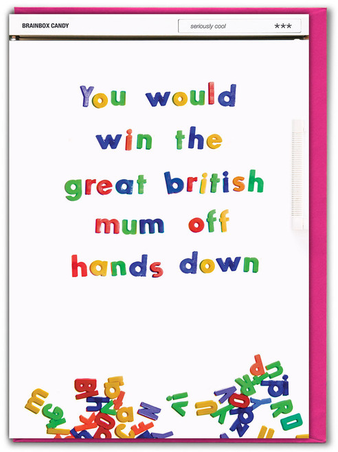 Great British Mum Off Mother's Day Greetings Card