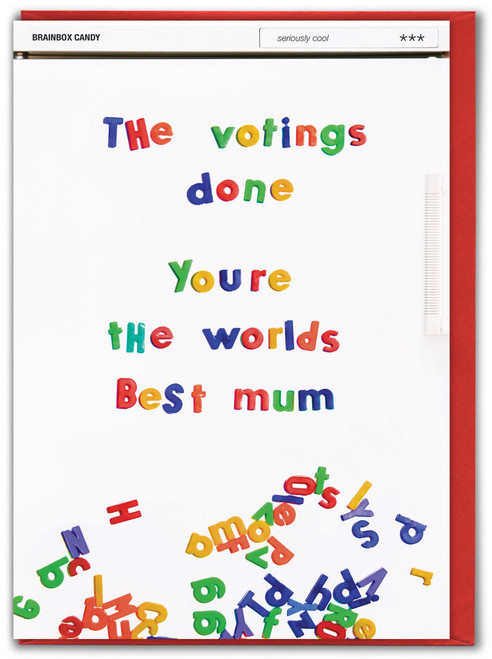 Votings Done Mother's Day Greetings Card