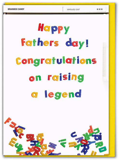 Raising A Legend Father's Day Card