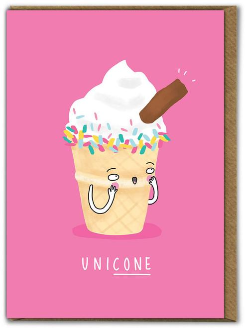 Unicone Birthday Card