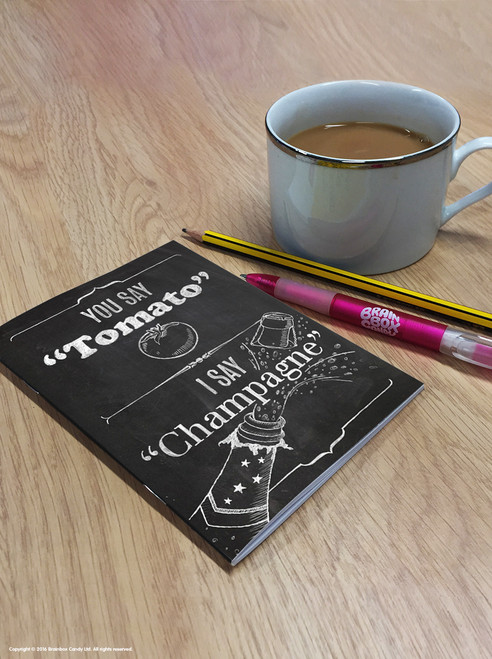Tomato Champagne A6 Notebook