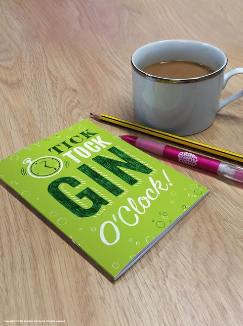 Gin O'Clock A6 Notebook