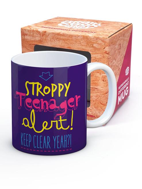 Purple Stroppy Teenager Boxed Mug