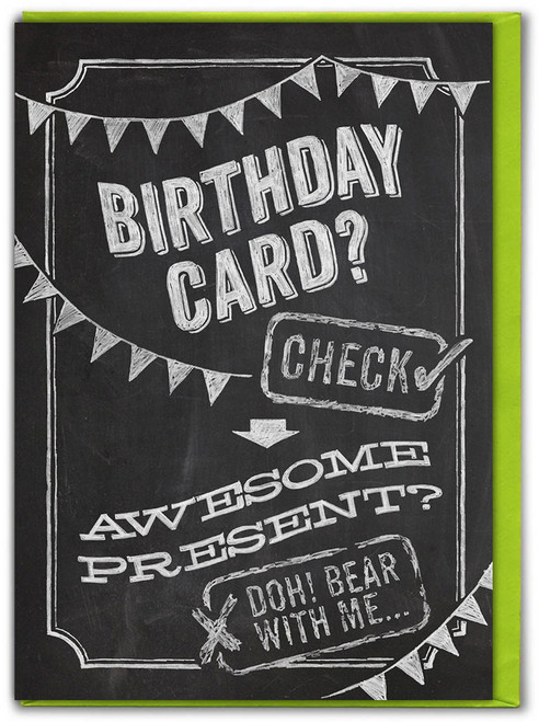 Birthday Card? Check Card