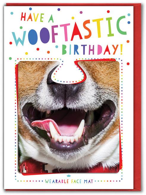 Wooftastic Birthday! Card & Face Mat