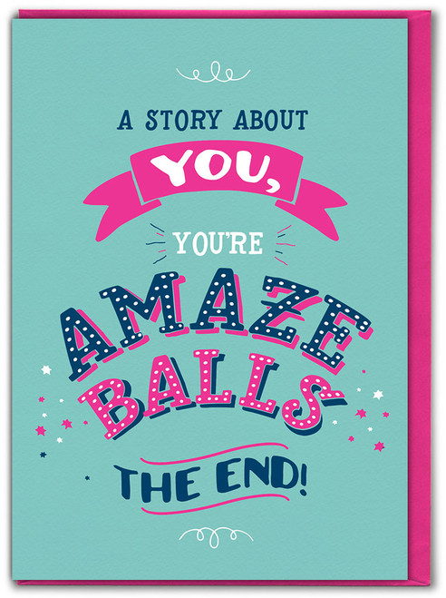 A Story About You Birthday Card