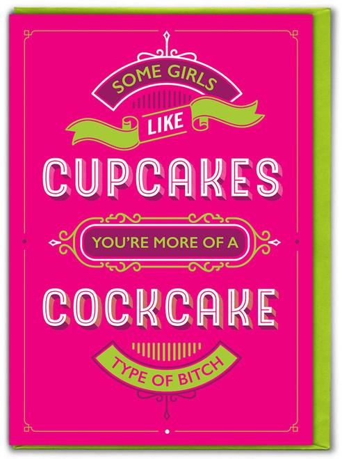 Cockcake Birthday Card