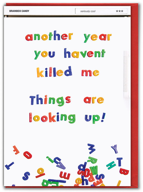 Haven't Killed Me Anniversary Card