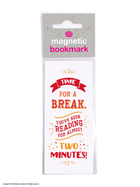 Time For A Break Magnetic Bookmark