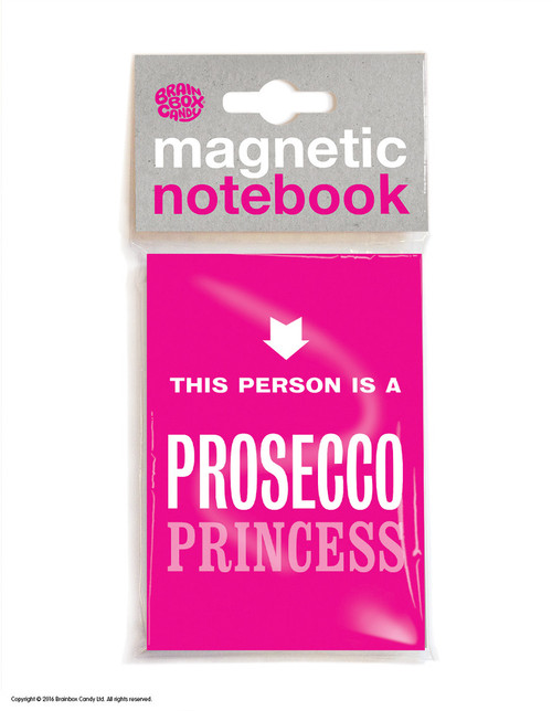 Prosecco Princess Magnetic Notebook