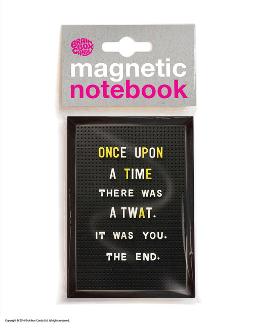 Once Upon A Time Magnetic Notebook
