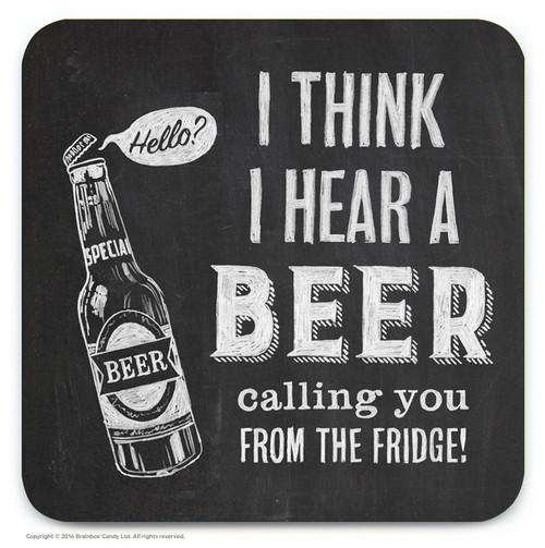 Beer Calling Coaster