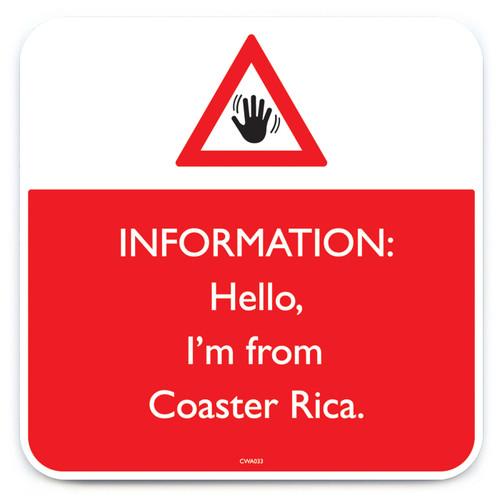 Coaster Rica Coaster