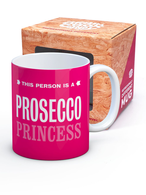 Prosecco Princess Boxed Mug