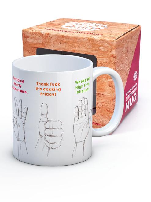 Handy Week Guide Boxed Mug