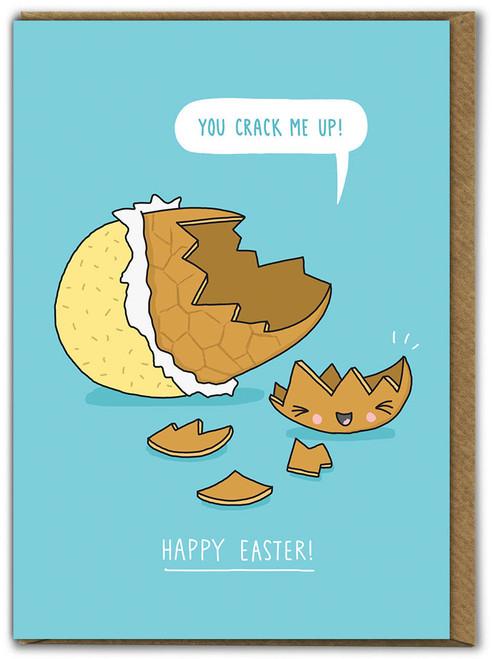You Crack Me Up Easter Card