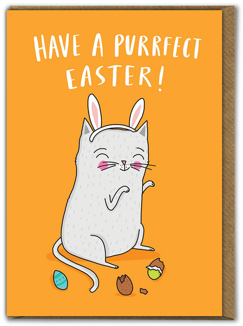 Have a Purrfect Easter Card