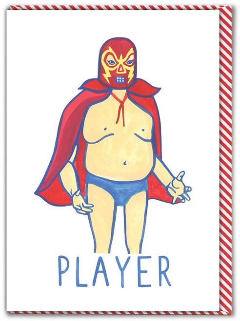 Player Birthday Card