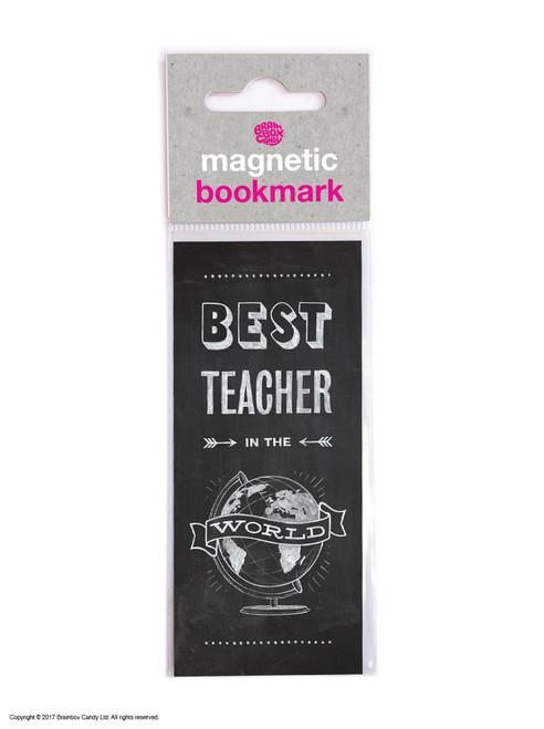 Best Teacher In World Magnetic Bookmark