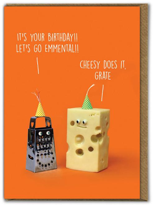 Go Emmental Birthday Card
