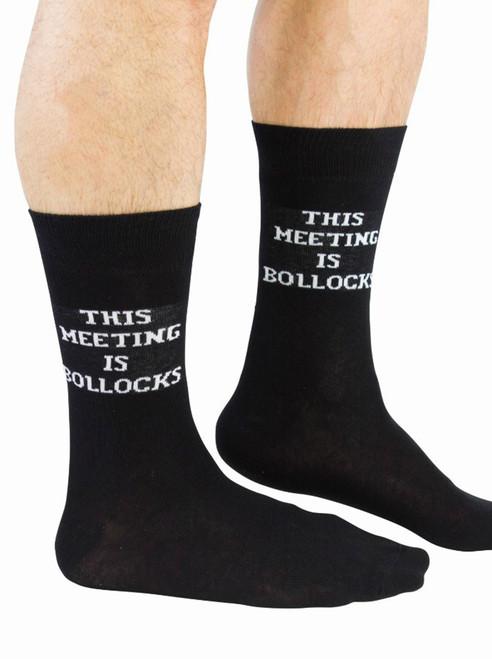 Men's This Meeting Is Bollocks Socks