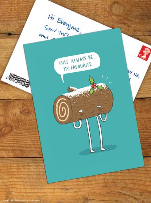 Yule Favourite Christmas Postcard