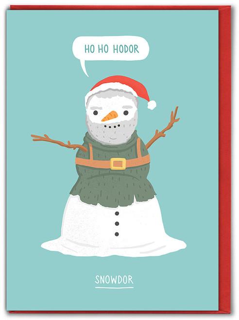 Snowdor Christmas Card