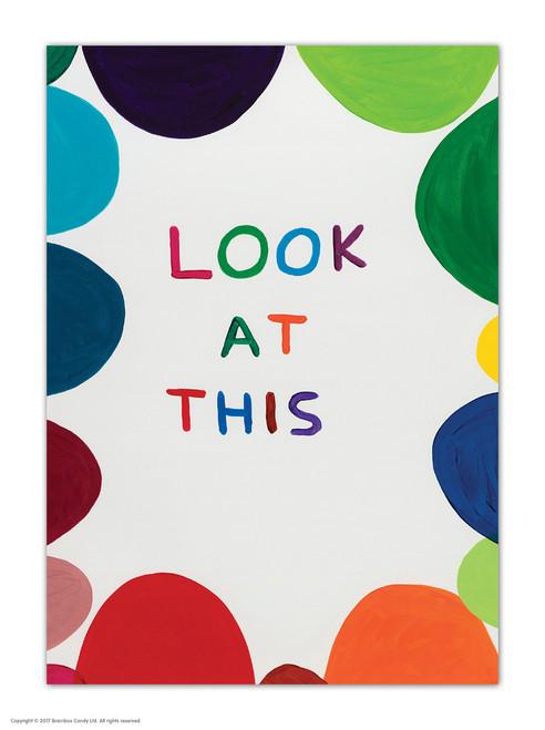 David Shrigley Look At This Postcard