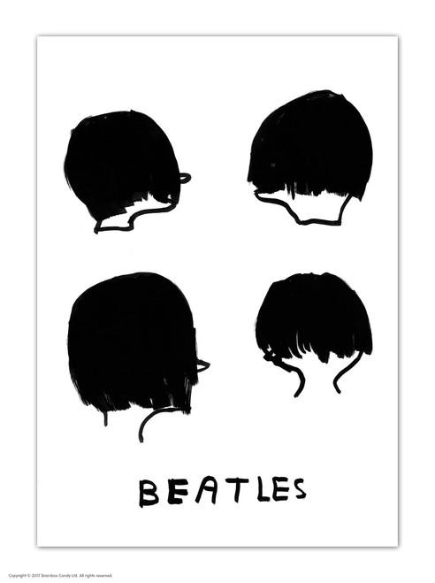 David Shrigley Beatles Postcard